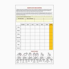 Free Carb Counting Chart Diabetes Indian Food Chart Food
