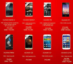 huawei phones price list. huawei android smartphones/tablet christmas 2015 price drop and freebies phones list m