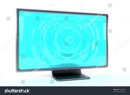 Light Shadow Lcd Modern Lcd Monitor Easy Change Wavy Stock Illustration 33103054