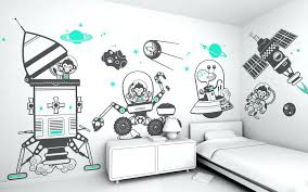 fullsize of sterling planets wall decals kids room wall decal ideas black blue vinyl kids wall