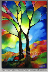 25 beautiful abstract trees ideas on tree water color beautiful abstract paintings