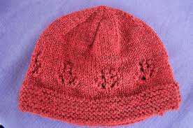 Free Knitting Patterns For Baby Hats On Straight Needles