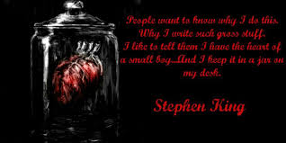 Stephen King Quotes On Love Simple Stephen King Famous Quotes On QuotesTopics
