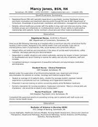 Rn Resume Examples Beautiful Resume Examples For New Graduates New ...