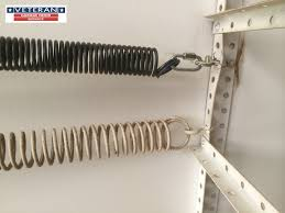 how to adjust side mounted garage door springs