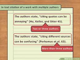 40 Easy Ways To Cite A Quote With Pictures WikiHow Adorable How To Cite A Quote