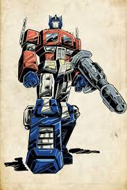 wallpaper cartoon old optimus prime