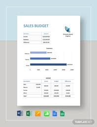Sales Budget Template Free 11 Sales Budget Samples In Google Docs Google Sheets