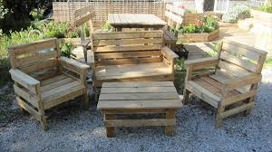 pallet furniture projects. Pallet Outdoor Furniture Projects G