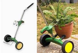 china garden trolley plant pot mover