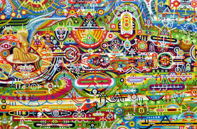 this artist got cancer of the pineal gland his paintings will leave you schless
