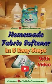 homemade fabric softener in 5 easy steps