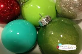 glitter painted glass ornaments project chinese hand
