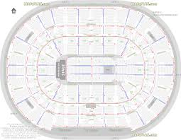 Bridgestone Arena Seating Chart Virtual United Center Floor Plan United Center Seating For Concerts