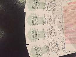 Fenway Park Concert Seating Chart Billy Joel Billy Joel Tickets At Fenway Park 730 00 Picclick
