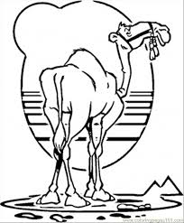 Small Picture Camel Coloring Page Free Egypt Coloring Pages ColoringPages101com