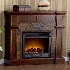 cypress espresso convertible electric fireplace from wall to corner electricfireplacesdirect