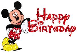 Résultats de recherche d'images pour «happy birthday mickey»