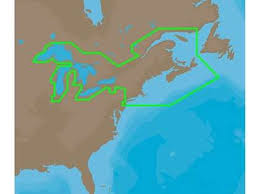 Electronic Charts Canada C Map 4d Electronic Marine Chart Grt Lakes East Can