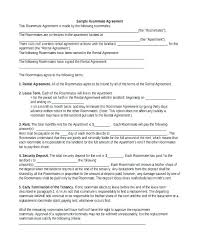 Printable Sample Rental Application Template Form Roommate Free ...