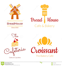 Bakery Logo Set Stock Vector Illustration Of Pastries 54225786