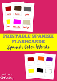 These number flashcards are perfect for helping young children start to recognize their basic numbers. Free Printable Flashcards Colors Look We Re Learning