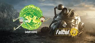 Fallout Stream Ninja Morty Rick With Did Not Go 's 76 And Logic rHrxUng5