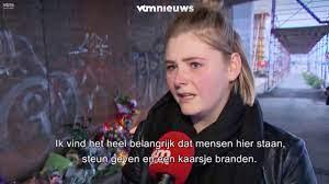 Julie Van Espen / 8 mei 2019 Steunbetuigingen aan de plaats van overlijden  - YouTube
