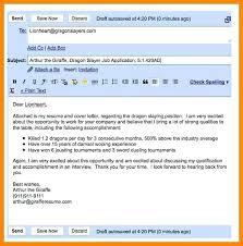 Sending Resume Email Gorgeous How To Send Resume Via Email As Type Sending Writing Socialumco