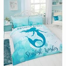 mermaid duvet cover. Simple Cover 334455mermaidwishesdoublebedset And Mermaid Duvet Cover O