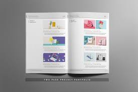 resume booklet clean resume booklet 8 pages color palette template