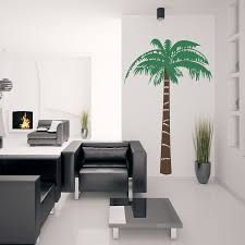 Palm Tree Decor For Living Room Eiffel Tower Vases White Home Decoration Home Decoration