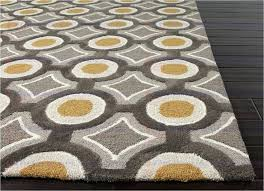 mosaic area rugs mosaic hand tufted geometric pattern polyester gray yellow area rug whole area rugs