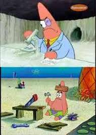 Patrick, Smart Dumb Meme Template