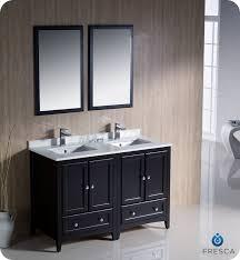 58 inch bathroom vanity. Fresca Oxford Collection 48 Espresso Traditional Double Sink Throughout Inch Bathroom Vanity Idea 5 58