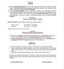 Kontrak kerja karyawan merupakan surat perjanjian antara pekerja dan pemilik kerja dalam kurun waktu tertentu ataupun tidak tertentu dalam format perjanjian kontrak kerja karyawan bisa disebut sah ataupun tidak sah, tetap harus berdasarkan pada pasal 1320 kitab undang undang hukum. Contoh Surat Perjanjian Kerja Waktu Tertentu Doc