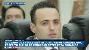 Resultado de imagem para Ney Santos como prefeito de Embu das Artes.