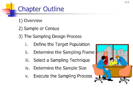 The Sampling Design Process Ppt Chapter Eleven Powerpoint Presentation Free Download