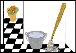 Kitchen Floor Mop Termination From Job Dschondogs Blog