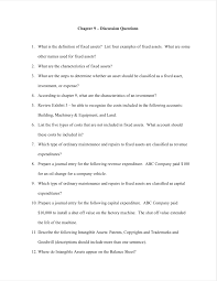Solved Chapter 9 Discussion Questions 1 What Is The De