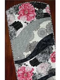 EZ Breezy Quilt As You Go Table Runner & Place Mat Pattern &  Adamdwight.com