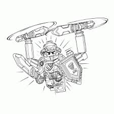 Small Picture Lego Nexo Knights Coloring pages for kids