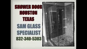 shower door houston texas framed and frameless