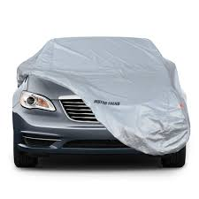 Motor Trend 7 Series Defender Pro Car Cover Waterproof For All Weather Snow Wind Rain Sun Ultra Heavy 6 Layers