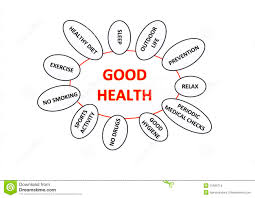 good health concept stock illustration image of great  good health concept
