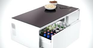 refrigerator coffee table cool for an entertainment area even though its ugly the cooler coffee table fridge coffee table kickstarter