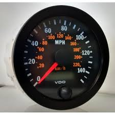 vdo mm electronic speedometer mph