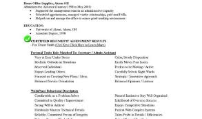 Resume Template For Executive Assistant Or Tech Resume Templates