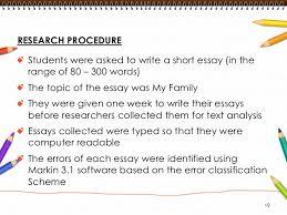 common errors in written english essays table 1 20