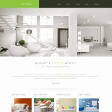 home decor website templates templatemonster